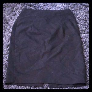 Zara black formal pencil skirt like new Size M